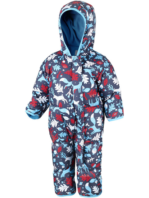 Columbia Snuggly Bunny Bunting Suit Youths Red Camellia Deers/Atoll